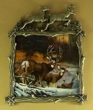 Wilderness Glory Ever Watchful #2 Plate Plaque Deer Buck Doe Mibcoa Ted Blaylock