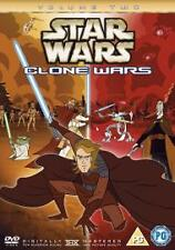 Star Wars The Clone Wars Vol 2 Volume Two DVD REGION 2 ORIGINAL FAST FREE UK P&P