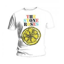 Stone Roses Logo Lemon Multicolour Mens T Shirt Medium Tshirt