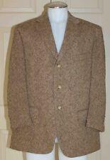 Polo Ralph Lauren Virgin Wool Blazer Sport Coat Brown Size 44 SH Italy