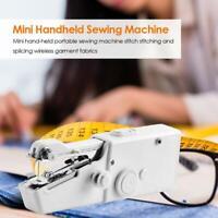 MIni Handheld Sewing Machines Portable DIY Needlework Battery Home Supplies