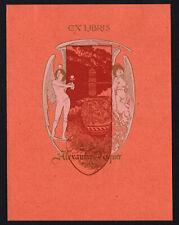 27)Nr.105- EXLIBRIS-Alexandre de Riquer - Jugendstil / art nouveau