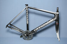 CANNONDALE Super Six Road HiMod Carbon Frame Set Size 56cm with Crankset