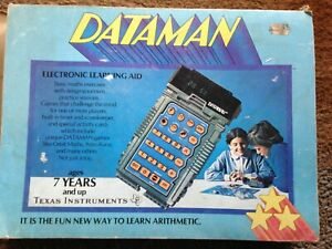 Boxed Texas Instruments Dataman Electronic Learning Aid