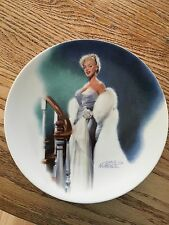 """(2155) Marilyn Monroe collector plate - Delphi """"All About Eve"""""""