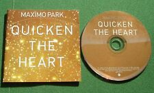 Maximo Park Quicken The Heart inc A Cloud Of Mystery / Roller Disco Dreams + CD