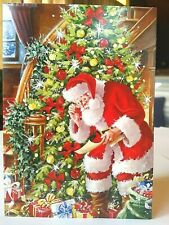SALE! 16 Boxed Christmas Cards Set w/ Envelopes Greeting Holiday Secret Santa