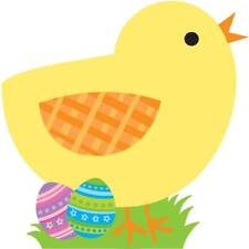 Chick w/Eggs Yellow Bird Animal Easter Holiday Party Decoration Paper Cutout