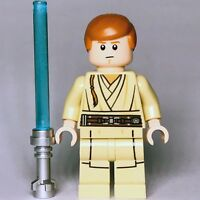 New Star Wars LEGO® Obi-wan Kenobi Jedi Padawan Phantom Menace Minifigure 75169