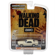 Greenlight 1/64 The Walking Dead 1967 Ford Mustang Coupe Sophia Model Replica