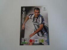Carte Adrenalyn - Ligue des champions 2012/13 - Juventus - Mirko Vucinic