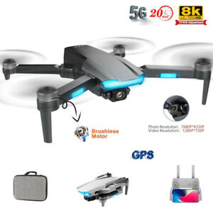 GPS Drone 4K Professional Dual Camera 5G WIFI FPV Dron Aerial Distance1200M S106