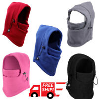 Ski Mask Balaclava Neck Warmer Fleece Snowboard Cold Winter Weather Men Women US