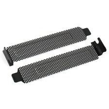 10 Pcs Hard Steel Dust Filter Blanking Plate PCI Slot Cover w Screws V1B8