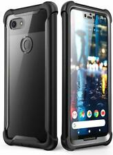 For Google Pixel 3XL 3 2XL, i-Blason New Full-Body Bumper Case with Screen Cover