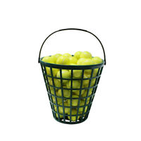 Golf Ball Basket Golfball Container with Handle Ball Holder Stadium Accessories