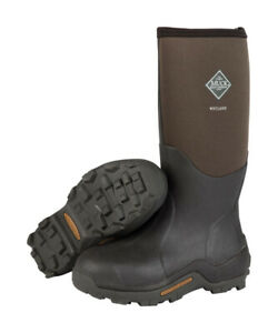 The Original Muck Boot Company Wetland Men's Boots 9 US Brown - Case Of: 1;