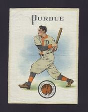 S21 Tobacco Silk - Large Athlete & College Seal - Purdue University - Baseball
