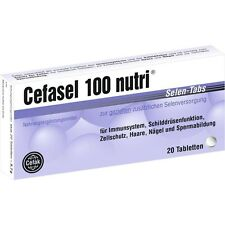 CEFASEL 100 nutri Selen Tabs Tabl.   20 st   PZN4522563