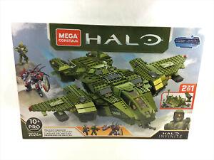 Mega Construx Halo Infinite Pelican Inbound Set 2024 Pieces - NEW, Free Shipping