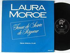 """LAURA MOROE (MAXI 45T 12"""") TENUE DE SOIREE DE RIGUEUR  REMIX SPECIAL CLUB"""