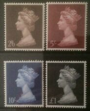 GREAT BRITAIN 1969 HV DEFINS MLH SET OF 4