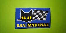 A553 Aufnäher Flicken Sev Marchal -blau 9 5 CM