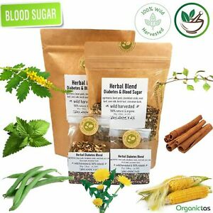 Diabetic Tea Blend, Naturally Lower & Control Blood Sugar, Glucose, Cholestorol