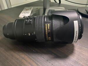 Nikon Nikkor AFS 70-200mm f/2.8 G ED VR Lens