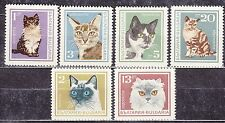BULGARIA 1967 **MNH SC# 1588 - 1593  The Cats