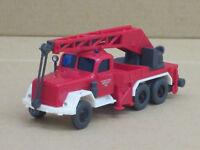 Magirus-Deutz KW 15 Kranwagen, o.OVP, Wiking, 1:87, Feuerwehr, mit Türaufkleber