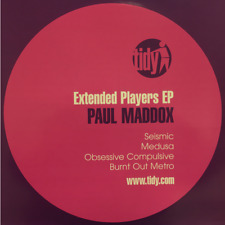 UKDJ Tidy Paul Maddox - Extended Players EP Vinyl Record Seismic Medusa