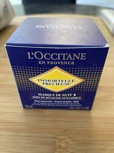 L'occitane Immortelle Precieuse Masque De Nuit
