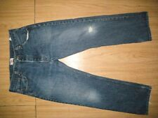 7497 Used blue jeans 501 36x30 frayed holes