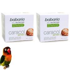 2 Unités BABARIA Anti-Aging Crème nourrissante visage crème EXTRAIT ESCARGOT