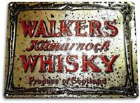 """Walkers Scottish Whisky"" Art Store Brew Beer Liquor Shop Bar Pub Sign"
