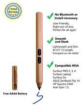 Smartpen Surface Stylus 1024 Pressure Sensitivity Pen Aluminum Body 4A Battery