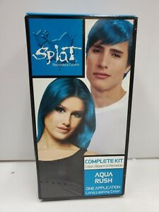 SPLAT Hair Color Complete Kit, Aqua Rush