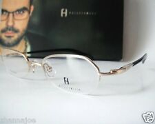 Freudenhaus Titanium Germany 48-19 135 Texas Gold Eyeglass Frames Mens H.Rimless
