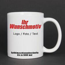 Tasse mit Logo, Fototasse mit Ihrem Bild, bedruckte Motivtasse Werbetasse