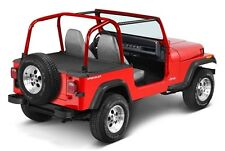 Jeep Wrangler YJ Duster Deck Cover Abdeckung Heck Black Bestop 92-95