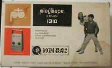 Mint Vintage Playtape 2 Track 1310 Portable Radio Tape Cartridge Player Nib
