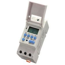 lärmschiene Digital LCD Strom programmierbar Timer DC 12V 15A Zeit Relais