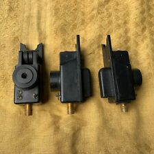 3 x STEVE NEVILLE COMPACT ROLLER WHEEL CARP FISHING BITE ALARMS,BUZZERS,ANGLING