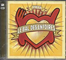 DOUBLE CD LE BAL DES ENFOIRÉS LES CHANSONS/LES TABLEAUX BRUEL/GOLDMAN.....NEUF