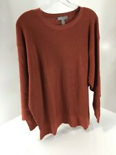 Asos Women Maternity Premium Lounge Knit Dropped Sleeve Sweater Rust US:10 NWT=