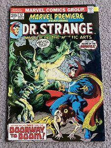 Marvel Premier Vol. 1 #12 Doctor Strange 1st Appeareance Queen of the Gypsies