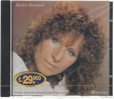 BARBRA STREISAND MEMORIES CD F.C. SIGILLATO!!!