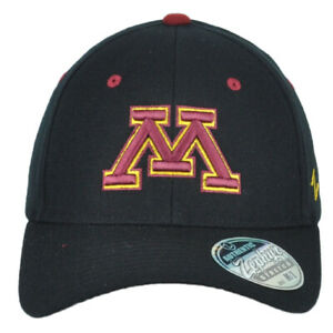 NCAA Zephyr Minnesota Golden Gophers Flex Fit Stretch Medium Large ML Hat Cap
