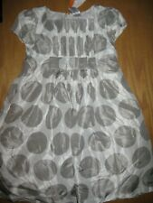 NWT Gymboree Holiday Gems 5T Silver Gray Dot Party Dress